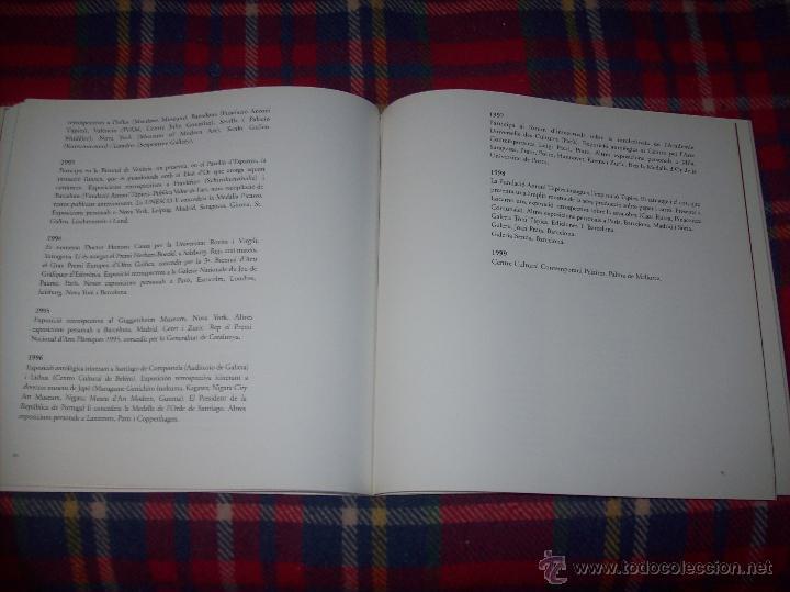 Libros de segunda mano: ANTONI TÀPIES.PELAIRES.CENTRE CULTURAL CONTEMPORANI. 1ª EDICIÓN 1999.EJEMPLAR BUSCADÍSIMO.FOTOS. - Foto 20 - 50640871