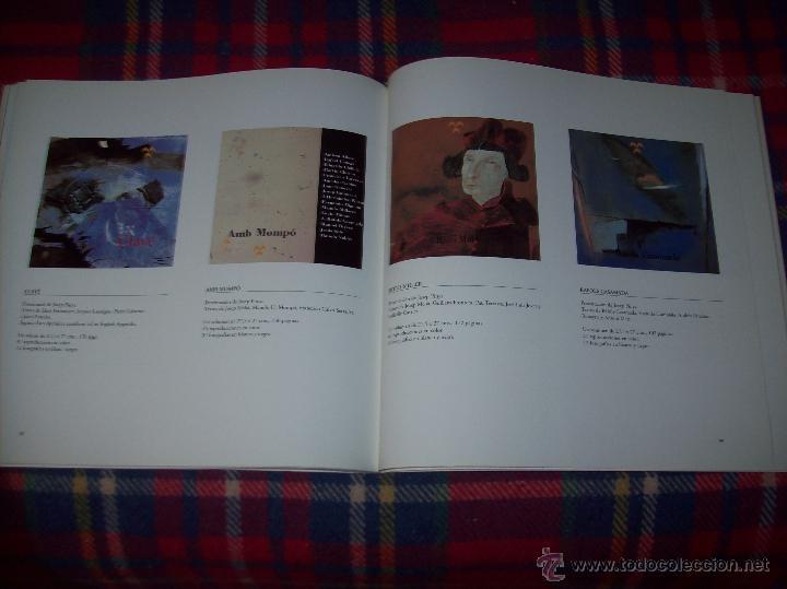 Libros de segunda mano: ANTONI TÀPIES.PELAIRES.CENTRE CULTURAL CONTEMPORANI. 1ª EDICIÓN 1999.EJEMPLAR BUSCADÍSIMO.FOTOS. - Foto 23 - 50640871