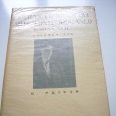 Libros de segunda mano: FIGURAS CUMBRES DEL ARTE CONTEMPORANEO ESPAÑOL VOLUMEN XIX PRIETO 10 LAMINAS 1949 XGC1. Lote 50956910