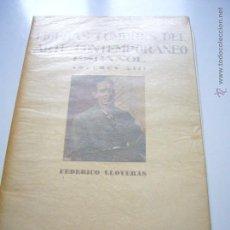 Libros de segunda mano: FIGURAS CUMBRES DEL ARTE CONTEMPORANEO ESPAÑOL VOLUMEN XIII FEDERICO LLOVERAS 10 LAMINAS 1945 XGC1. Lote 50957405