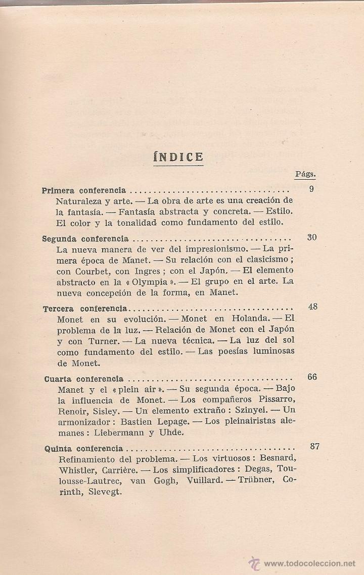 Libros de segunda mano: Los pintores impresionistas / Béla Lázár * LABOR * - Foto 2 - 51070338