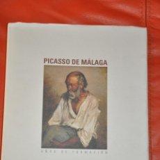 Libros de segunda mano: PICASSO DE MÁLAGA AÑOS DE FORMACIÓN , 2007. Lote 51246412