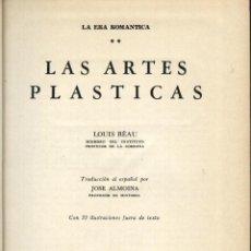 Libros de segunda mano: RÉAU, LOUIS, LAS ARTES PLASTICAS,. Lote 51357573