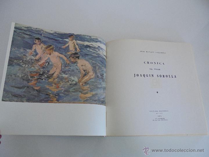 Libros de segunda mano: CRONICA DEL PINTOR JOAQUIN SOROLLA. JOSE MANAUT VIGLIETTI. VER FOTOGRAFIAS ADJUNTAS. - Foto 13 - 51463375