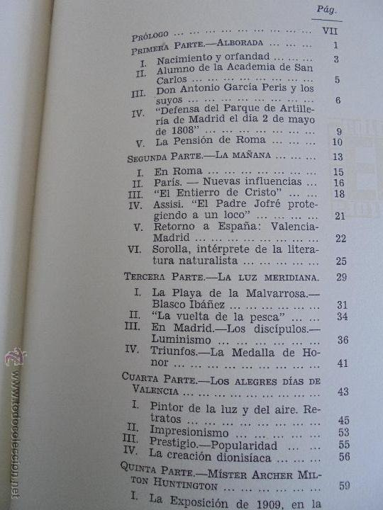 Libros de segunda mano: CRONICA DEL PINTOR JOAQUIN SOROLLA. JOSE MANAUT VIGLIETTI. VER FOTOGRAFIAS ADJUNTAS. - Foto 28 - 51463375
