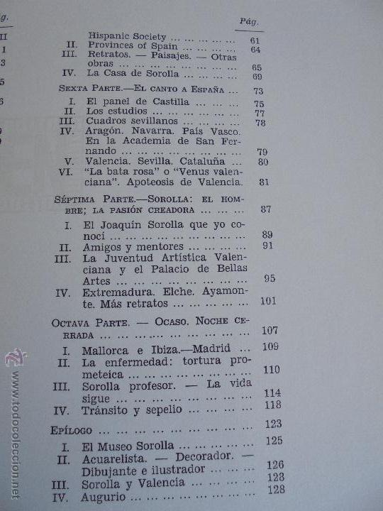 Libros de segunda mano: CRONICA DEL PINTOR JOAQUIN SOROLLA. JOSE MANAUT VIGLIETTI. VER FOTOGRAFIAS ADJUNTAS. - Foto 29 - 51463375