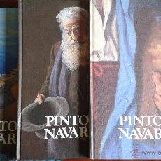 Libros de segunda mano: PINTORES NAVARROS. SALVADOR MARTIN CRUZ. 1981. TRES TOMOS. COMPLETA E IMPECABLE.. Lote 51486712