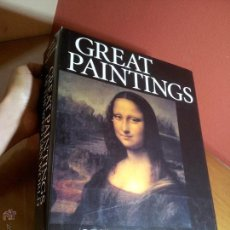 Libros de segunda mano: GREAT PAINTINGS OF THE WESTERN WORLD BY ALISON GALLUP, GERHARD GUITROOY, ELIZABETH WEISBERG 1998. Lote 51518387