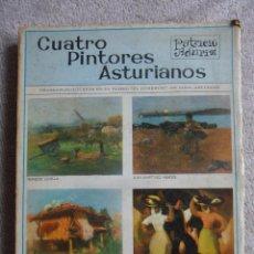 Libros de segunda mano: CUATRO PINTORES ASTURIANOS. PATRICIO ADURIZ. GIJON, 1970. RUSTICA. 214 PAGINAS. CON FOTOGRAFIAS. 128. Lote 51624507