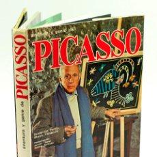 Libros de segunda mano: PICASSO, ARGOS ED. 1974. PRESENTACIÓN DE ANTONI TÀPIES. 24X29,5 CM.. Lote 52062003