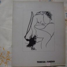 Libros de segunda mano: CATÁLOGO DE TERESA AHEDO1995 GALERIA LUMBRERAS. Lote 52152290
