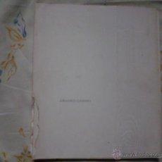 Libros de segunda mano: AMADEO GABINO CATALOGO MUSEO DE ALBACETE. Lote 52153985