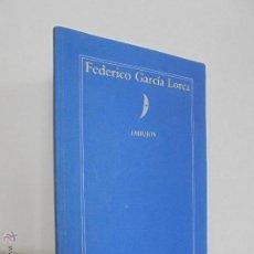Libros de segunda mano: FEDERICO GARCIA LORCA. DIBUJOS. GRANADA 1986. VER FOTOGRAFIAS ADJUNTAS.. Lote 52466086