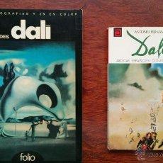 Libros de segunda mano: DAWN ADES DALI + SALVADOR DALI ARTISTAS ESPAÑOLES CONTEMPORANEOS. Lote 52642603
