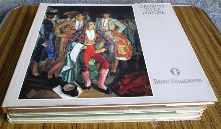 4 TOMOS COMPLETA - CAMINOS EN LA PINTURA - POR JOSÉ Mª DONOSTY (Libros de Segunda Mano - Bellas artes, ocio y coleccionismo - Pintura)