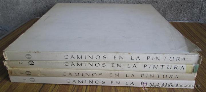 Libros de segunda mano: 4 tomos completa - CAMINOS EN LA PINTURA - por José Mª Donosty - Foto 2 - 52696196