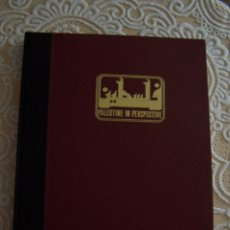 Libros de segunda mano: PALESTINE IN PERSPECTIVE. LIBRO DE LÁMINAS DE REPRODUCCIONES DE GRABADOS ANTIGUOS DE PALESTINA. 1978. Lote 52837395