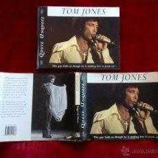 Libros de segunda mano: TOM JONES QUOTE UNQUOTE - 1996. Lote 52878715