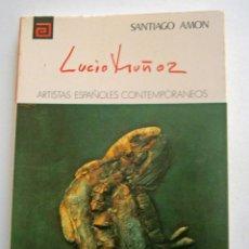Libros de segunda mano: LUCIO MUÑOZ DE SANTIAGO AMON. Lote 52924268