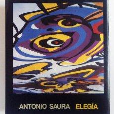 Libros de segunda mano: ANTONIO SAURA. ELEGIA. Lote 53197524