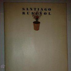 Libros de segunda mano: SANTIAGO RUSIÑOL(1861-1931) 1981 EXPOSICIÓ DEPARTAMENT DE CULTURA DE LA GENERALITAT DE CATALUNYA. Lote 53223724
