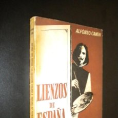 Libros de segunda mano: LIENZOS DE ESPAÑA Y NUEVOS MOTIVOS DEL MUSEO DEL PRADO / ALFONSO CAMIN. Lote 53424682