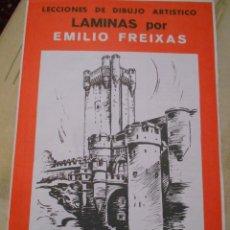 Libros de segunda mano: LÁMINAS POR EMILIO FREIXAS. SERIE 24. CASTILLOS. Lote 53863737