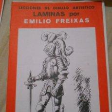 Libros de segunda mano: LÁMINAS POR EMILIO FREIXAS. SERIE 34. ARMAS Y ARMADURAS. Lote 53863806