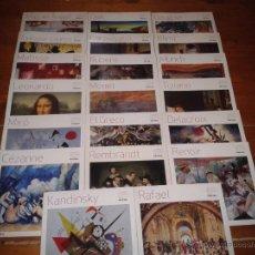 Libros de segunda mano: GRANDES MAESTROS DE LA PINTURA. PÚBLICO. 20 AUTORES.. Lote 54030410