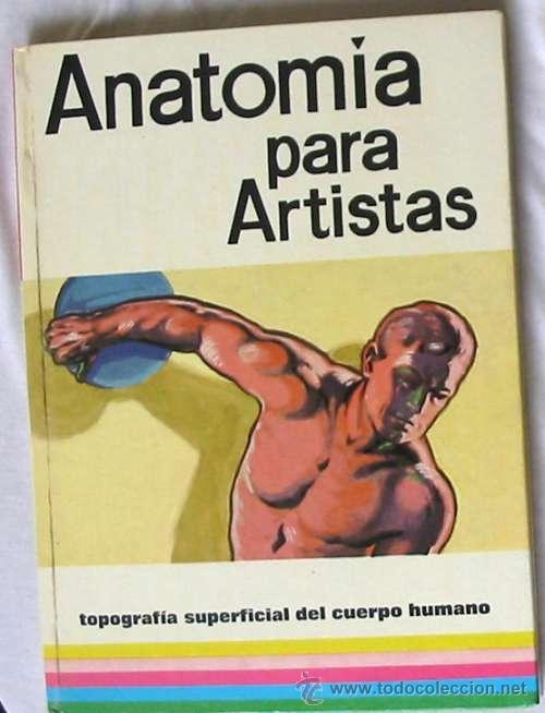 anatomía para artistas - topografía superficial - Comprar Libros de ...