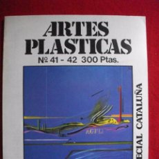 Libros de segunda mano: REVISTA ARTES PLASTICAS Nº 41 - 42 ESPECIAL CATALUÑA 1980. Lote 54368739