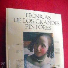 Libros de segunda mano: TECNICAS DE LOS GRANDES PINTORES - W. JANUSZCZAK - ED., BLUME - CARTONE. Lote 91709429