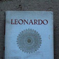 Libros de segunda mano: TRATADO DE LA PINTURA. VERSIÓN CASTELLANA DE MARIO PITTALUGA. DA VINCI (LEONARDO). Lote 54542459