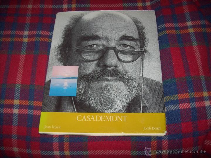 Libros de segunda mano: CASADEMONT.J. BENET / J. IRIARTE.DEDICATÒRIA I FIRMA ORIGINAL DEL PINTOR FRANCESC DASSÍS CASADEMONT - Foto 2 - 54622580