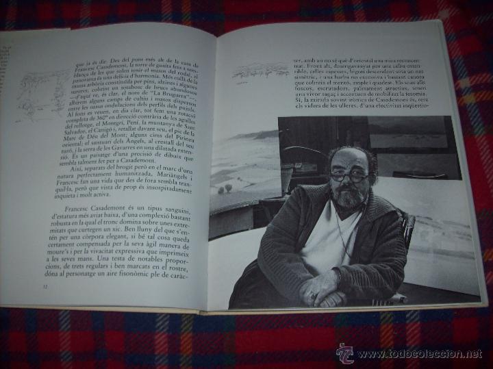 Libros de segunda mano: CASADEMONT.J. BENET / J. IRIARTE.DEDICATÒRIA I FIRMA ORIGINAL DEL PINTOR FRANCESC DASSÍS CASADEMONT - Foto 9 - 54622580