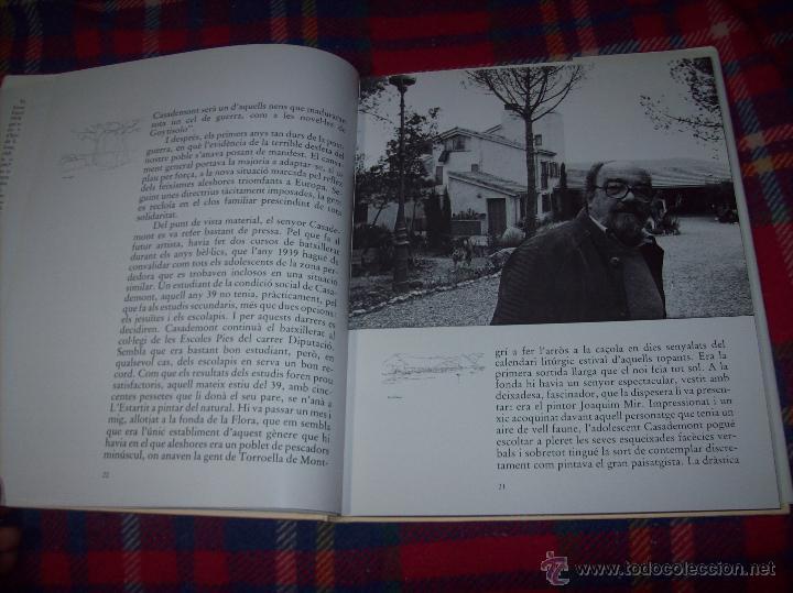 Libros de segunda mano: CASADEMONT.J. BENET / J. IRIARTE.DEDICATÒRIA I FIRMA ORIGINAL DEL PINTOR FRANCESC DASSÍS CASADEMONT - Foto 10 - 54622580