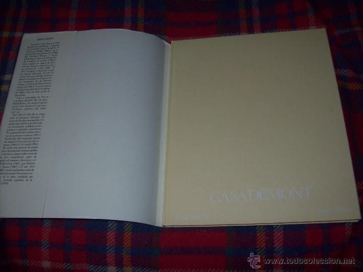Libros de segunda mano: CASADEMONT.J. BENET / J. IRIARTE.DEDICATÒRIA I FIRMA ORIGINAL DEL PINTOR FRANCESC DASSÍS CASADEMONT - Foto 21 - 54622580