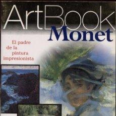 Libros de segunda mano: ARTBOOK MONET - EL PADRE DE LA PINTURA IMPRESIONISTA -------(REF M1 E1). Lote 54716620
