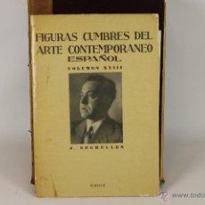 Libros de segunda mano: 6134 - FIGURAS CUMBRES DEL ARTE CONTEMPORANEO ESPAÑOL. VV.AA. EDI. ARCHIVO DE ARTE.. Lote 49196774