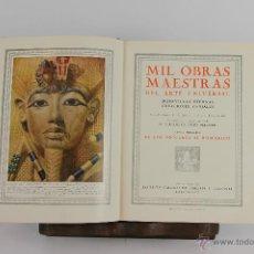 Libros de segunda mano: 5642- MIL OBRAS MAESTRAS DEL ARTE UNIVERSAL. ALEJANDRO CIRICI. EDIT. GALLACH. S/F. 2 VOL.. Lote 47849410