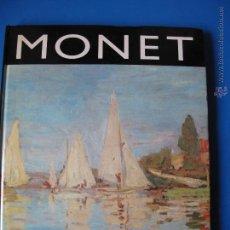 Libros de segunda mano: MONET.- LA ERA DE LOS IMPRESIONISTAS.-EDITORIAL GLOBUS.. Lote 54835165
