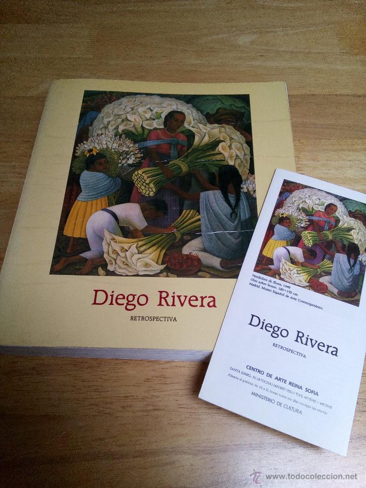DIEGO RIVERA: RETROSPECTIVA (Libros de Segunda Mano - Bellas artes, ocio y coleccionismo - Pintura)