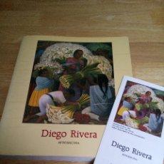 Libros de segunda mano: DIEGO RIVERA: RETROSPECTIVA. Lote 54884197