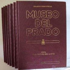 Libros de segunda mano: ENCICLOPEDIA GRANDES PINACOTECAS. MUSEO DEL PRADO. EDICIONES ORGAZ. 7 TOMOS. 1980.. Lote 54968019