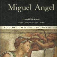 Libros de segunda mano: LA OBRA PICTÓRICA COMPLETA DE MIGUEL ANGEL. NOGUER. BARCELONA. 1972. Lote 91348942