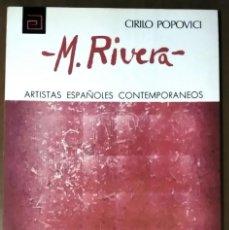 Libros de segunda mano: CIRILO POPOVICI . MANUEL RIVERA. Lote 55921497