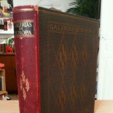 Libros de segunda mano: GALERIAS DE EUROPA. MUSEO DEL LOUVRE. Lote 56589324