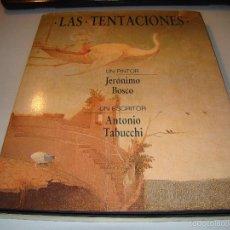 Libros de segunda mano - LAS TENTACIONES - JERÓNIMO BOSCO - ANTONIO TABUCCHI - 56655841