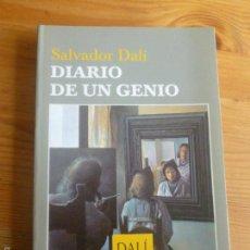 Libros de segunda mano: DIARIO DE UN GENIO. SALVADOR DALI. TUSQUETS. 2004 246PP. Lote 56739596