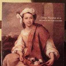 Libros de segunda mano: OBRAS MAESTRAS DE LA DULWICH PICTURE GALLERY. CATÁLOGO EXPOSICIÓN, MADRID, 1999.. Lote 56863865